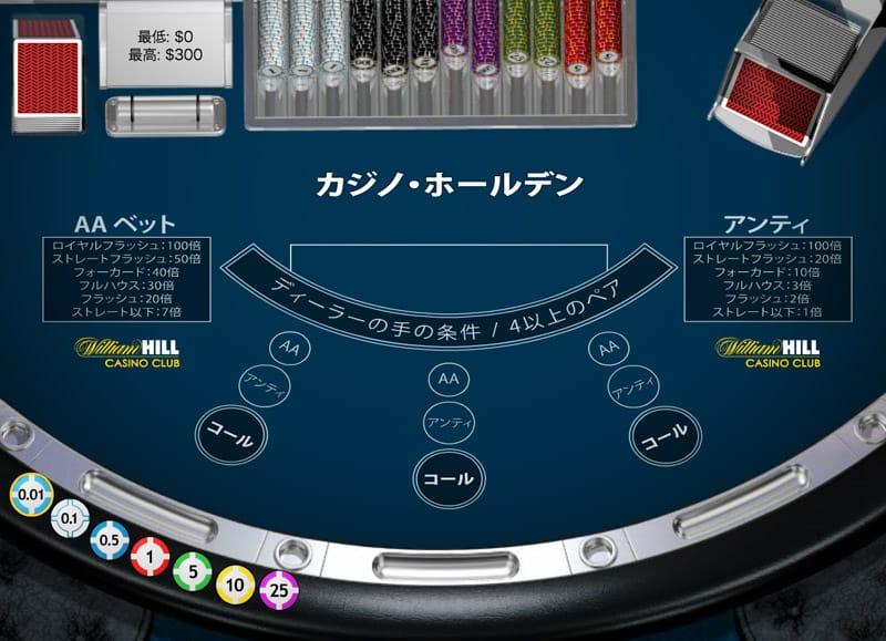 カジノ ホールデン / Casino Hold Em
